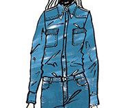 Fashion Illustration - coloured
