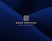 Khan Textiles | BRAND DESIGN