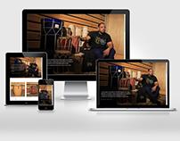 Sitio web para Willy Mayo, musico y luthier venezolano