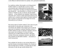 Arquitectura Moderna - ¿Somos Modernos?