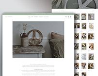 Handicraft items website