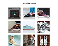 Webdesign - Projet Nike