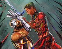 Cyborg Vs Phoenix