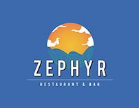 Zephyr Restaurant & Bar | Logo & Menu Design