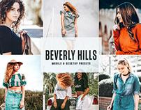 Free Beverly Hills Mobile & Desktop Lightroom Presets