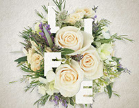 Flower typography