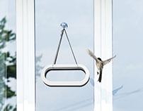 Frame bird feeder for WarehouseBrand.com