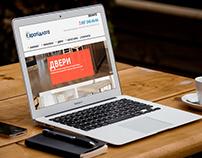 Wordpress web-site evropol.zt.ua
