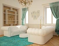 Living clasic design interior Timisoara Inside Studio