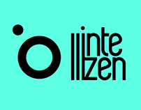 intellizen.gr logo & web design and brandding
