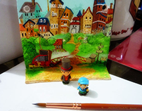 Professor Layton Wall Ornament