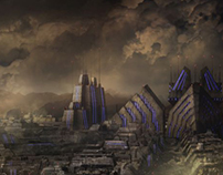 Aurora Film - Matte paintings