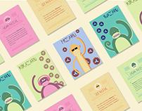The Three Monkey Storycards