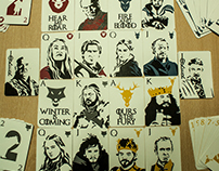 Game of Thrones Cards Deck - Serigraphy