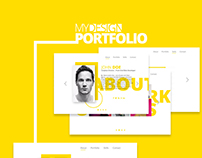 Portfolio Template Design