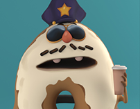 Donut Cop Project