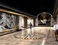 Metro station «Shkiperskaya» Design project