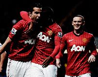 Manchester United SEPIA