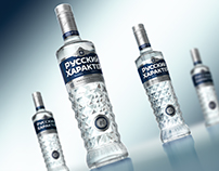 "Vodka ""RUSSIAN CHARACTER"""