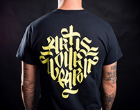 AnyForty - Art is Our Weapon Lettering