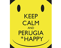 Perugia is Happy - Poster