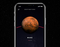 SPACED Challenge - App UI