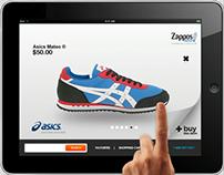 Zappos iPAD app - case study