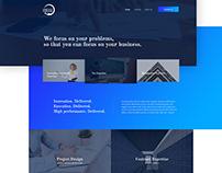 Website Design - Trading Group