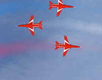 Barclaycard Red Arrows Flash Banner