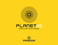 """""""PLANET 116"""". PROSEGUR. ADVERGAMING"""