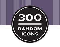 300 Random icons