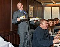 Waiters in Amsterdam