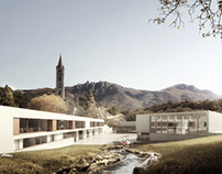 Primary school in Tesserete, CH