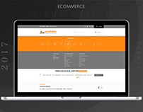Ecommerce UI & UX Game Product Web Design