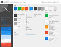 Katana Wireframes and Style