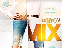 Fashion Mix Flyer Template