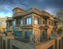 Residential Building Facade Design/ Archviz