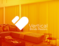 Vertical Blinds Masters Brand Identity