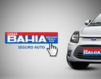 Casas Bahia: Seguro Auto