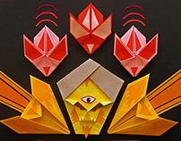 Origami Collage