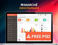 Marche UI Dashboard (Freebie)