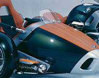 BMW R1200C Sidecar Concept