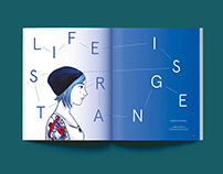 Life Is Strange - Editorial Illustration for APWOT mag