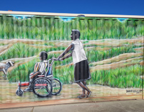 Wheelchairs For Kids Mural