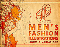 MEN'S FASHION ILLUSTRATIONS - LOOKS & VARIATIONS