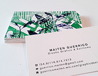 Tarjetas Personales - Business Cards