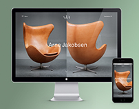 Identity and webshop for VÅR