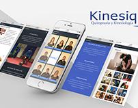 web design www.kinesiq.cl