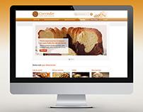 Layout Website Cerrado Padaria