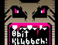 8 Bit Klubben Copenhagen logotype